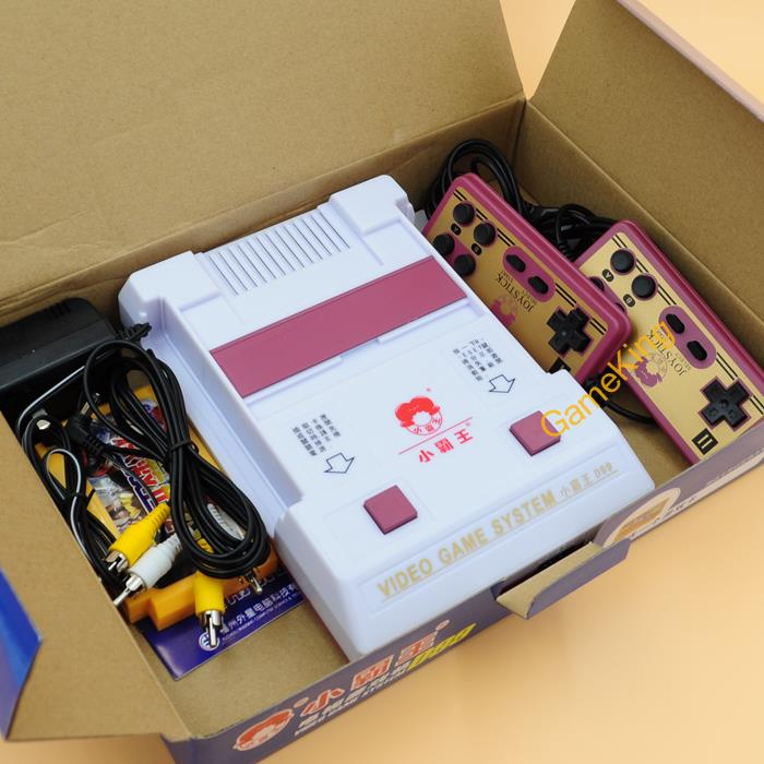 Subbor D99 Classic 8 Bit Video Game System Console Nostalagic with 400 in 1 Cartridge Classical Game card(China (Mainland))