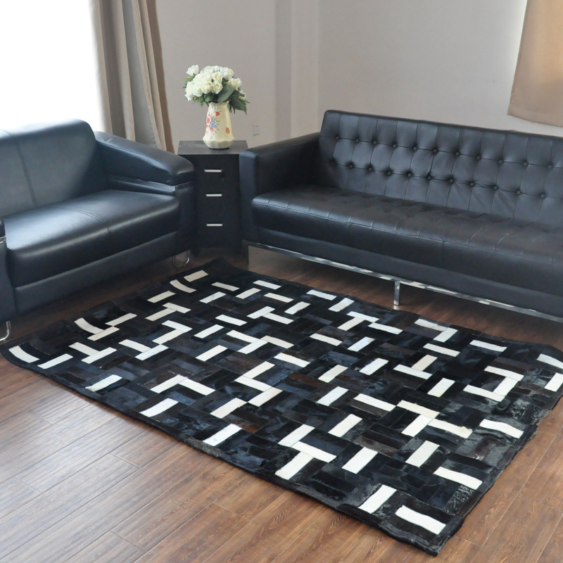 1 piece 100% natural cow leather movie theatre carpet