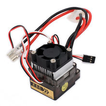 Buy Bidirectional 320A Brushed Electrical Speed Controller ESC Fan 1/10 RC Car Boat HSP HPI Wltoys Himoto Tamiya for $17.01 in AliExpress store