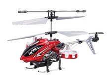 New Version4CH 4 Channnel IR 2.4Ghz Remote Control Mini Metal RC Helicopter LED Light w/ Gyro RTF Free Shipping
