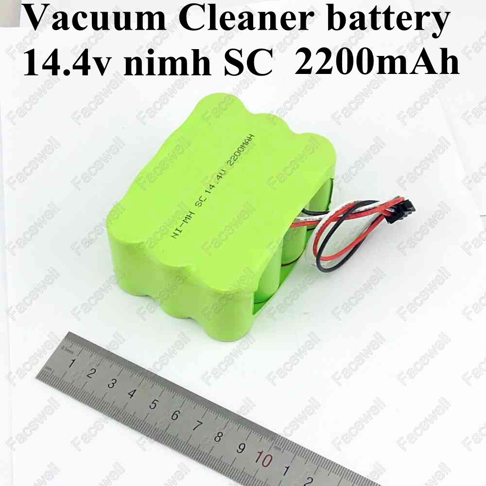 Brand ni-mh 14.4v battery SC 2200mah Ni mh Vacuum Cleaner bateria nimh sc battery for KV8 Cleanna series XR210 XR510 A B CDEFG(China (Mainland))
