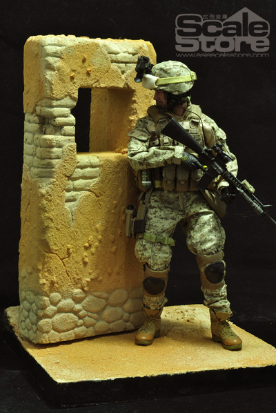 "1/6 Soldier Afghan Brick Warehouse Sandy Scene S0024 Afghanistan Walls Hobbies (Body Not Include) F 12"" Action Figure Accessory(China (Mainland))"