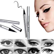 2016 Beauty Makeup Cosmetic Black Waterproof Eyeliner Long-lasting Slim Liquid Eye Liner Pen Pencil Free Shipping NA940(China (Mainland))