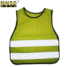MNSD 200 Pieces Packaging Sales Children's Reflective Safety Vest Chaleco Reflectante Yellow Safety Vest Safety Vest