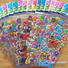 Горячая 20 шт./лот 3D Наклейки для детей велосипед сумки книгу Коньки DIY 3D Мультфильм Наклейки игрушки для девочек дети Рождество лучший подарки(China (Mainland))