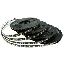 Buy New Arrival SMD5050 IP65 LED Strip Waterproof DC12V 60LED/m Flexible LED Light Single Color / RGB Black PCB 5m/lot for $6.49 in AliExpress store