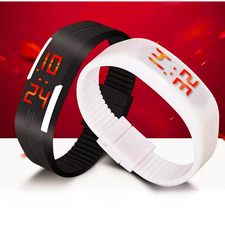 2015 New Fashion Touch Screen LED Bracelet Digital Watches For Men&Ladies&Child Clock Womens Wrist Watch Sports Wristwatch Saat(China (Mainland))