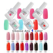 302 Colors 15ml Gelpolish Choose Any 1 Color Nail Gel Soak Off Led UV Nail Lamp Gel Nail UV Polish(China (Mainland))