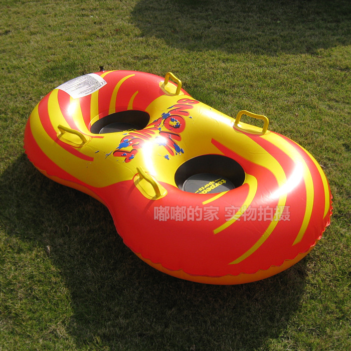 2014 Hot sale Inflatable Snow Tube Sledge ,Snow Twist Snow Tube Inflatable Snow Tube ,Sleds ,Skiing Tube for 2 persons OO5(China (Mainland))