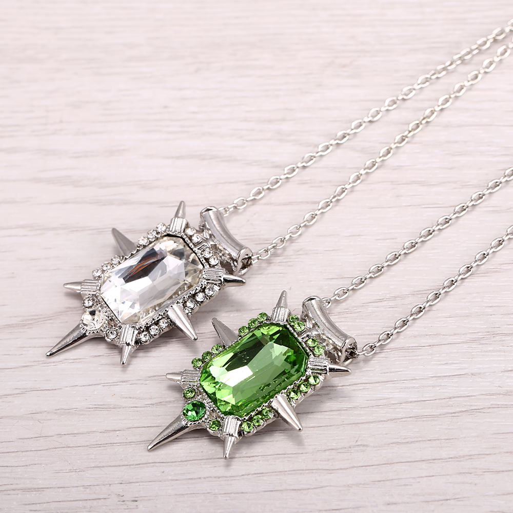 New Jewelry Hot Fashion Once Upon a Time Wicked Witch Zelina Glinda Necklace Shining Accessories Creative Jewelry Pendant(China (Mainland))