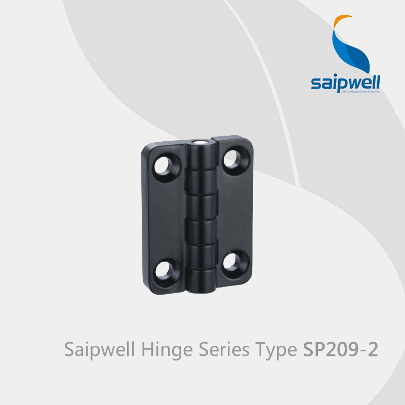 Saipwell SP209-2 zinc alloy soft closing cabinet door hinges for steel frame folding locking hinges 10 Pcs in a Pack(China (Mainland))