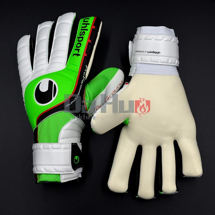 stock limited mens brand professional goalkeeper gloves for soccer balls goalkeeper protection football gloves luva de goleiro(China (Mainland))