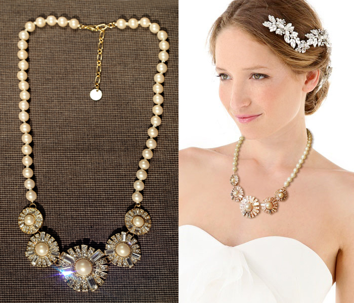 Fashion accessories simulated-pearl pearl circular sector luxurious necklace(China (Mainland))