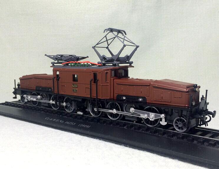 Genuine ATLAS 1:87 Large crocodile train head II Nr Ce6/8 train model Fine train model Rare collection model