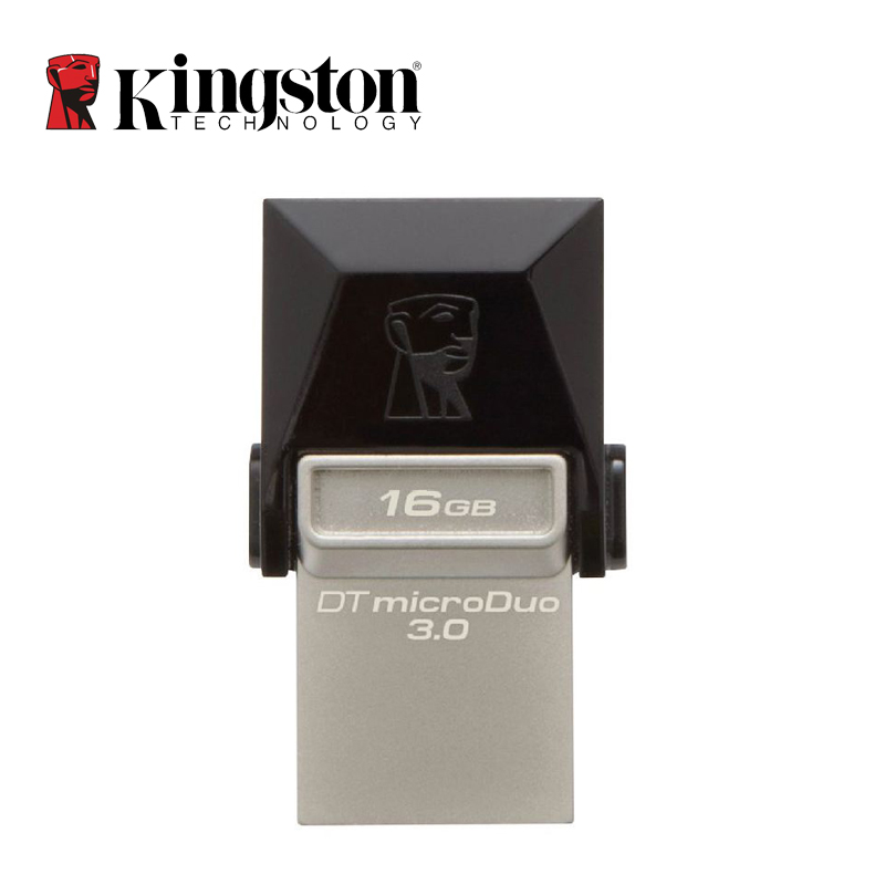 Kingston OTG Mini USB 3.0 USB Flash Drive 64GB 32GB 16GB Pen Drive Disk for Android Mobile phone Tablet 2 in 1 Memoria Stick(China (Mainland))