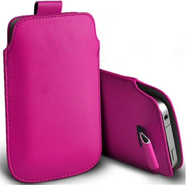 New Fashion for BQ Aquaris M5.5 Leather Phone Bags Cases 13 Colors Pouch Case Bag Cell Phone Accessories