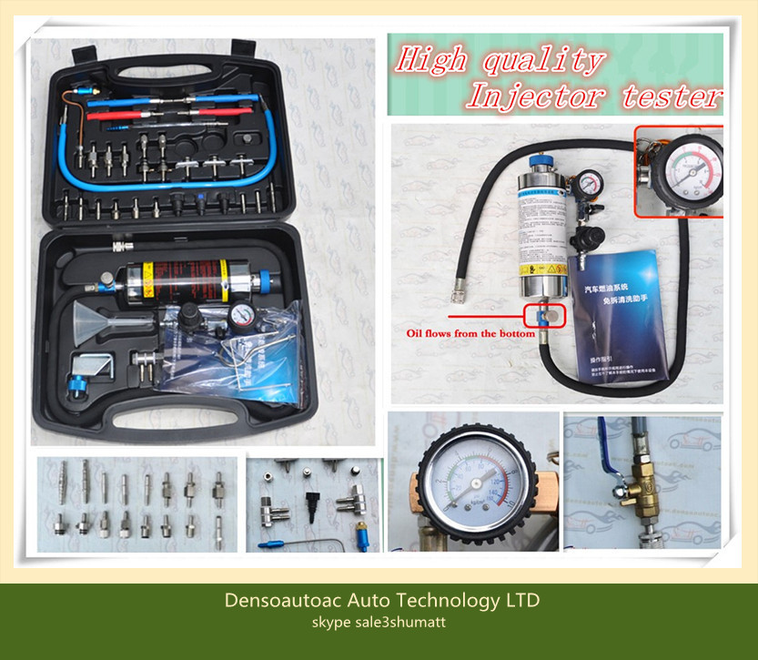 Auto Fuel Injector tester and Cleaner Fuel System Cleaner Car Air Intake System Cleaning tool FSC-200(China (Mainland))