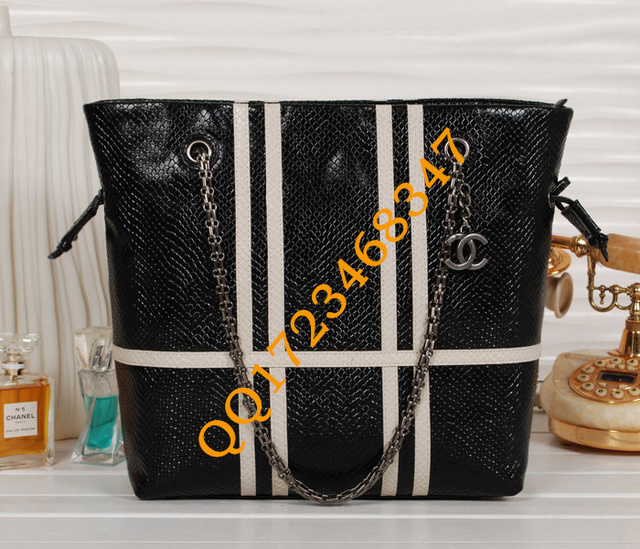 NEW ARRIVAL snake pattern Real Leather lady bag