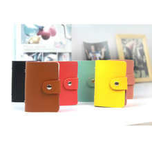 Passport Cover Fashion Soft Pu Leather Id Credit Bank Card Bag Holders For Woman Female Male Gift Customize Logo Free Shipping