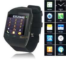 "Quad Band GSM Original S18 Smart Watch Phone 1.54"" Touch Screen Bluetooth SmartWatch Mobile Phone FM Radio Russian Greek Czech(China (Mainland))"