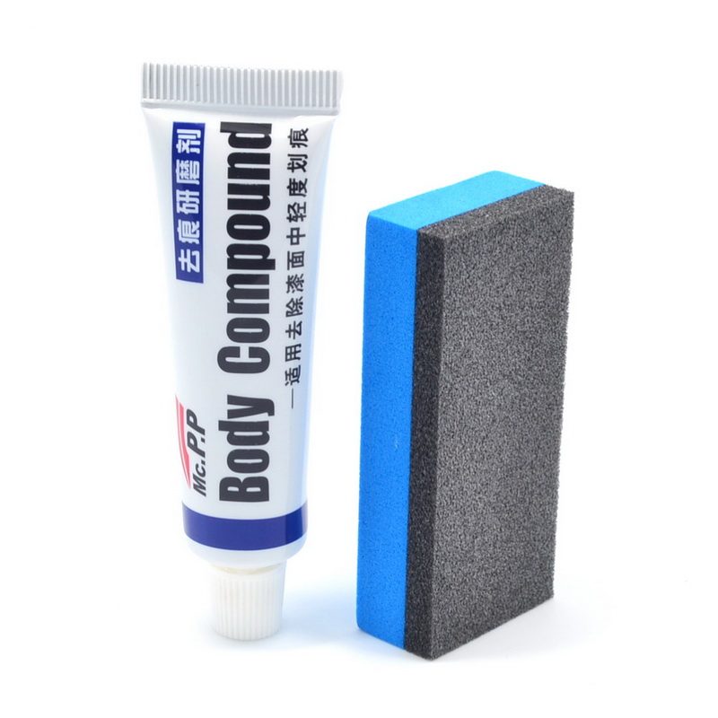 New Car-styling Fix it Car Body Grinding Compound MC308 Paste Set Scratch Paint Care Auto Polishing Paste Car Polish wholesale(China (Mainland))