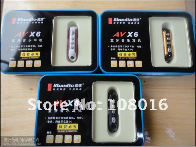Gifts market  Bluedio X6 stereo bluetooth headphones Bluedio AV X6 bluetooth headset 3.5mm plug headsets  01(China (Mainland))