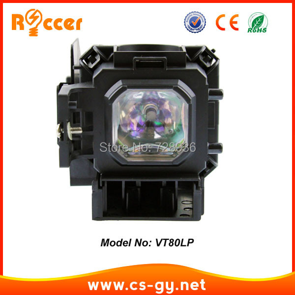 VT80LP replacement projector lamp bulb for NEC projector VT48/ VT49 /VT57/ VT58 /VT59 ETC<br><br>Aliexpress
