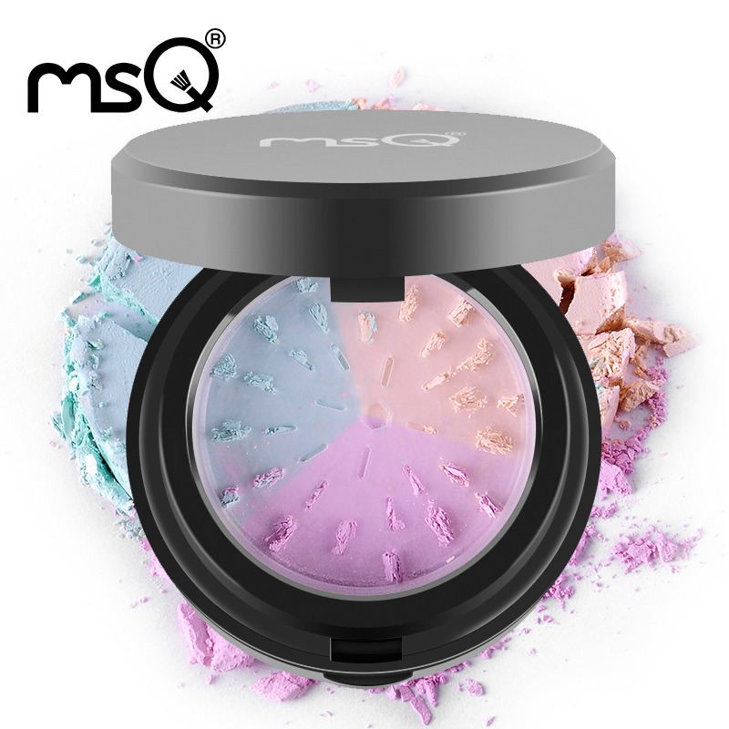 2015 Professional Loose Powder Hot MSQ Brand 3colors Mineral Powder With Puff Minerals Matte Makeup tools  Make Up For Face Care<br><br>Aliexpress