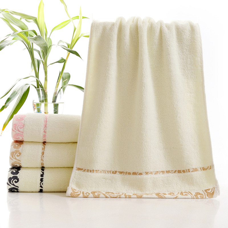 34x75cm 1pieces bath face towels bathroom for adults hand hair 100% cotton thick soft(China (Mainland))