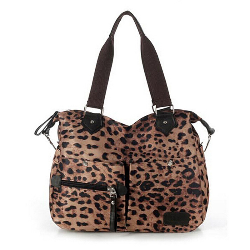 GAINA Hot Fashion European and American Leopard Printed Women Handbag High Quality Lady's Shoulder Bag Large Room Cheap C040(China (Mainland))