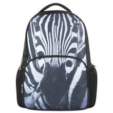 VN school backpacks fashion school bags for teenagers casual women men backpacks Sport Camping Hiking travel Bag zebra bags(China (Mainland))