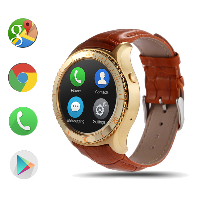 I2 android 5.1 OS MTK6580 Quad core Smart watch 4GB / 512MB Smartwatch With 3G wifi bluetooth GPS Google play store pk q1 GT08(China (Mainland))