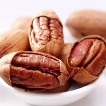2 bags Free Shipping 420g Chinese Nut Snack Sex Products Gift Cream Taste Big Pecan Nuts Snacks Healthy Green Food Dried Fruit