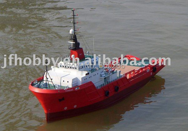 1/50 RC Model Boat Holland BLZZARD Scale Tugboat / The simulation Tugboat / Electric remote ...