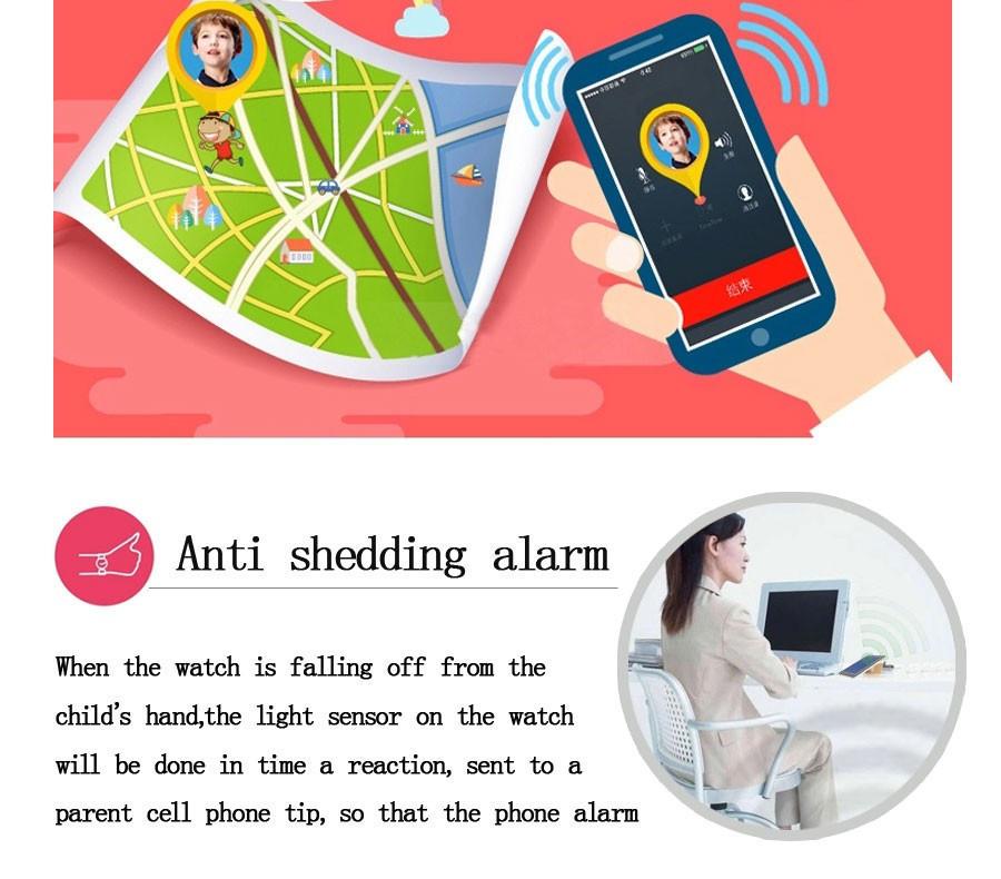 ถูก โรงงานใหม่Arrial GPS/GSM/Wifiติดตามชมสำหรับเด็กเด็กดูสมาร์ทที่มีSOSสนับสนุนGSMโทรศัพท์a ndroidและIOSต่อต้านหายไปY3