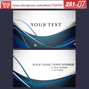 0251-07 business card template for spa business cards free business cards with free shipping online business card design<br><br>Aliexpress