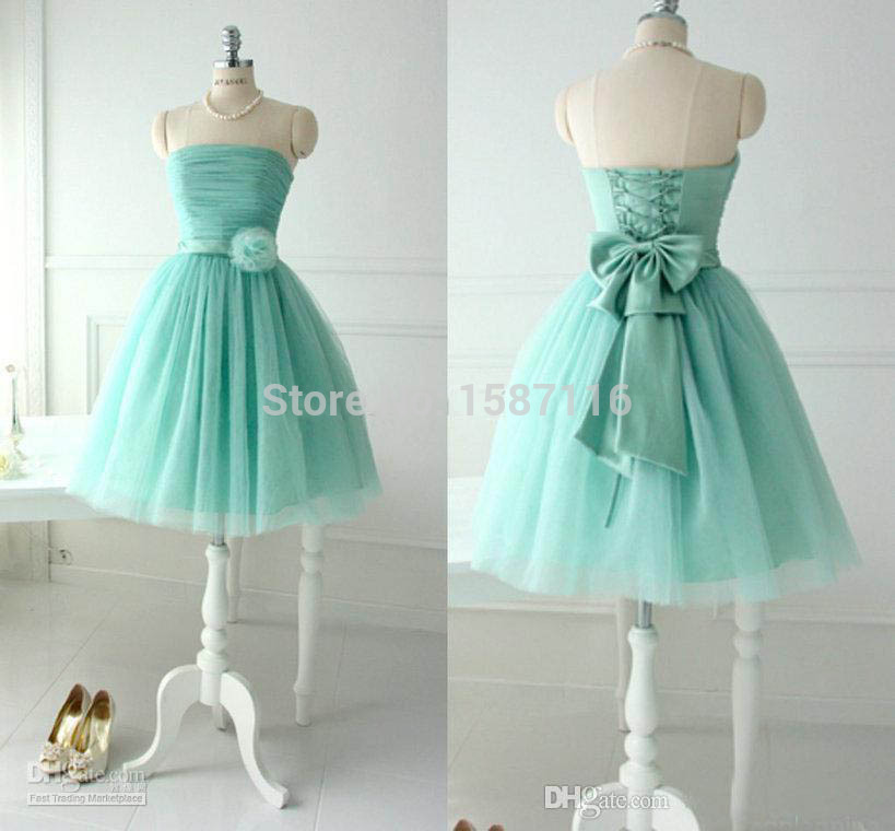 2015 lavender lovely mint bridesmaid dresses for teens young girls