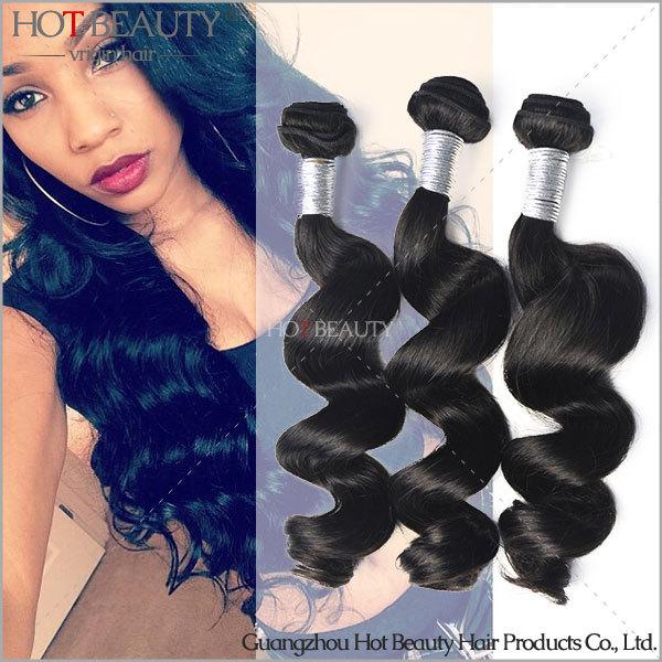 Peruvian Virgin Hair Loose Wave Hot Beauty Hair Product Human Hair Weave Natural Wave 3pcs lot Aliexpress Uk Hair Extensions(China (Mainland))