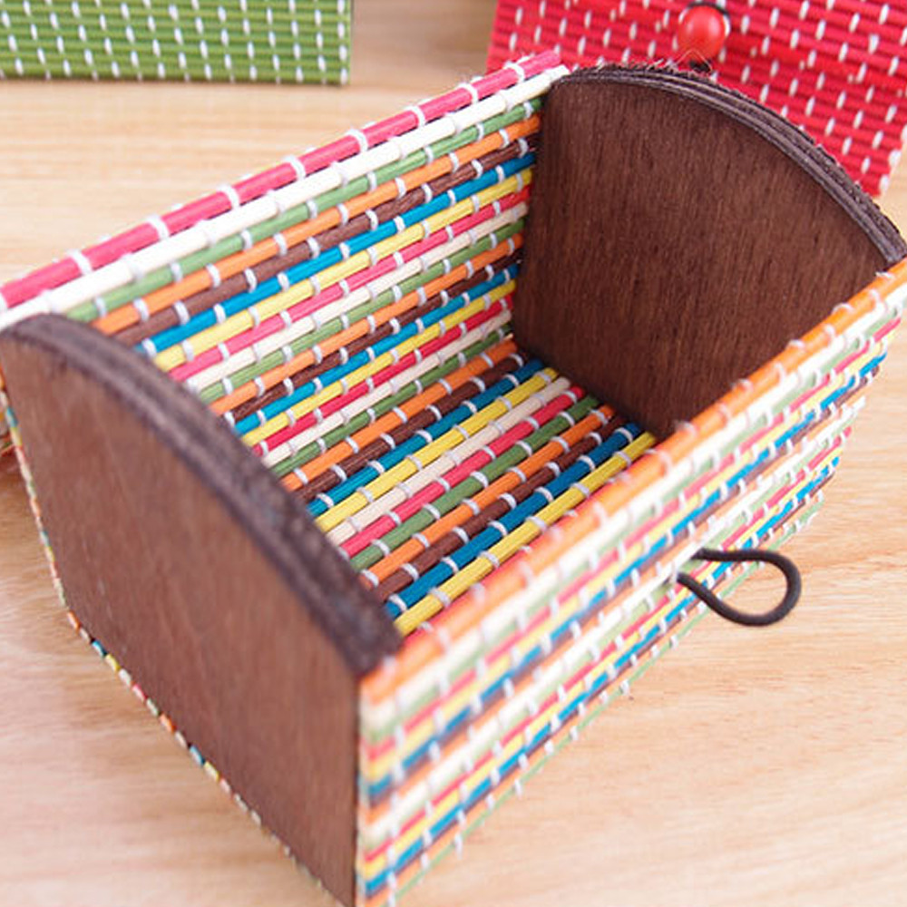 Bamboo wooden organizer make up organizer jewelry box ring for Jewelry box made of wood