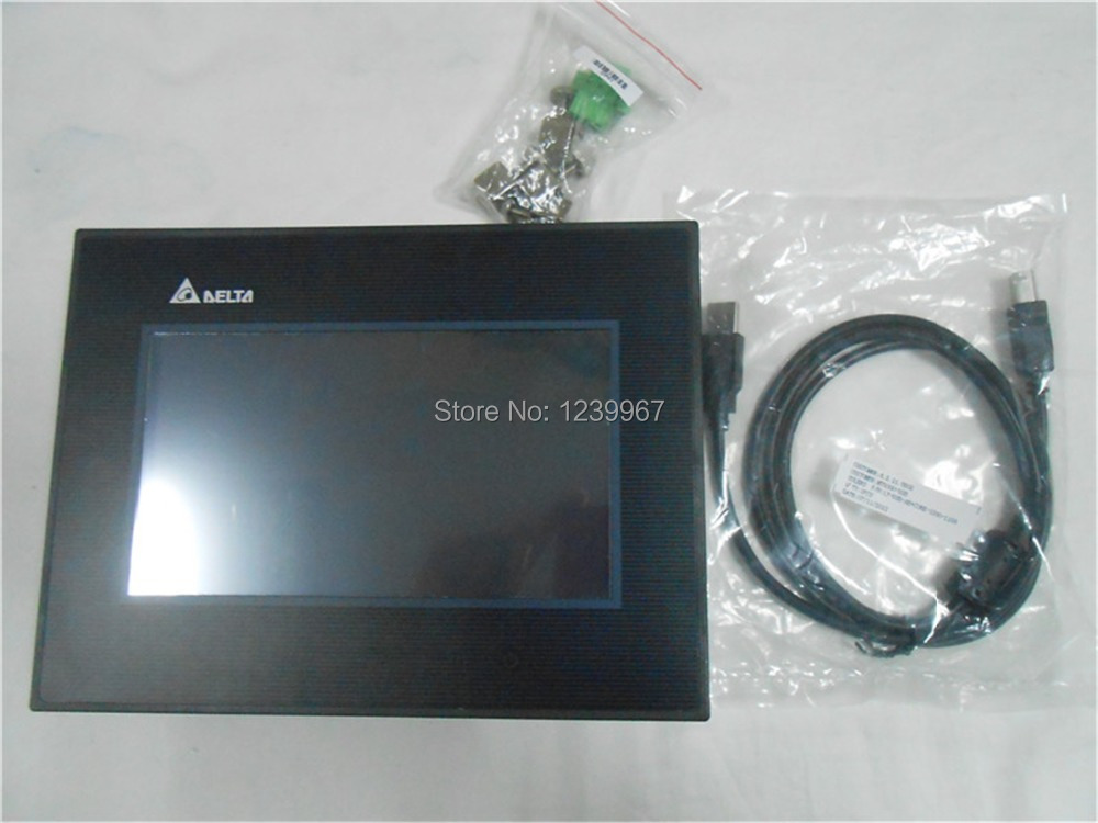 HMI Touch Screen 10.4 inch 800x600 DOP-B10S511 Delta New with USB program download Cable<br><br>Aliexpress