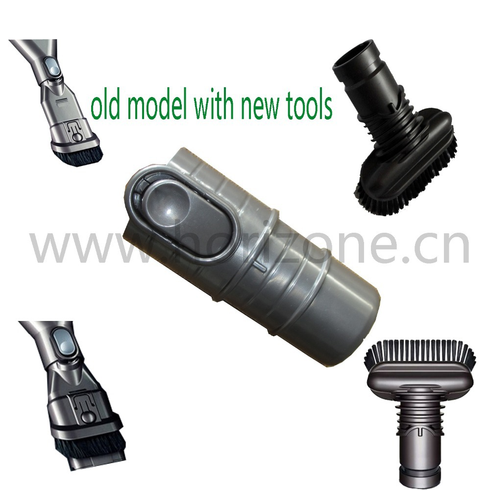 Handhold new cleaner attachment kit adapter for Dyson Vacuum Cleaner DC01 DC02 DC03 DC04 DC05 DC07 DC14 old model use(China (Mainland))