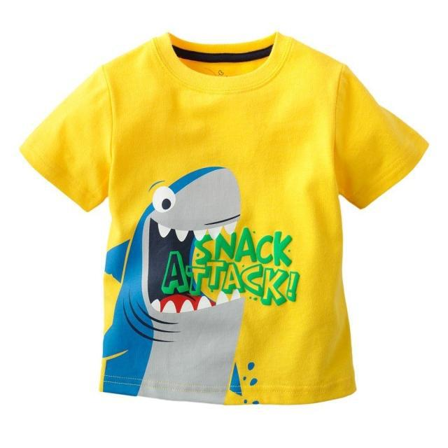 Wholesale children's cartoon T shrits 100% cotton o-neck clothes new brand name kid t shirt short sleeves top cute boys clothes(China (Mainland))