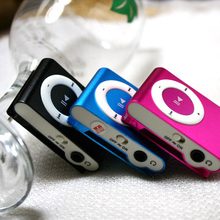 Fashion High Quality metal mp3 mini clip music player players 8gb micro tf/sd card Slot with running sport mp3 player 8 colors