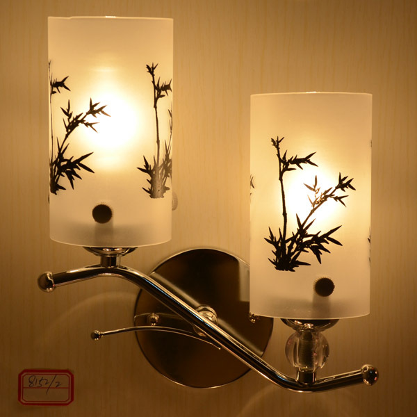 Iron Wall Lights double Led E14 Lamp Holder Indoor Modern Sconce Decoration Bedroom&Kids ...