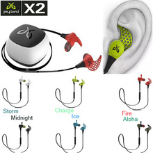 2days Promotion! Jaybird X2 Bluetooth earphones InEar Sports Wireless Headphones in stock (ALPHA CHARGE FIRE ICE MIDNIGHT STORM)(China (Mainland))