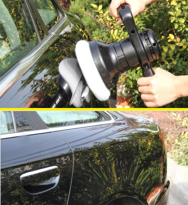 12V Waxing machine car gloss seal car paints polishing machine trainborn mini home floor waxing Family car dual-purpose machine(China (Mainland))