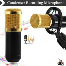 mikrofon BM800 Condenser Wired Microphone for Computer Network sing/Recording/Chat/Video Conference/Games microfone condensador(China (Mainland))