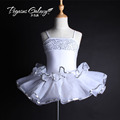 Children s new spring buds dance dress practice wear sequins stage outfits performing Act 1703