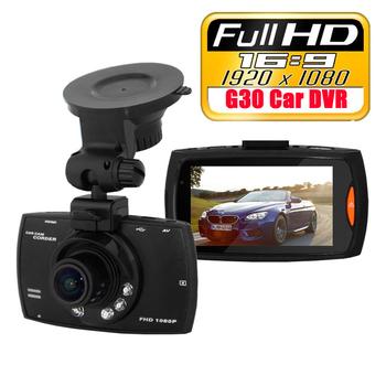 Видеорегистратор оригинальный G30 Full HD 1080 P Novatec 96220 работает в темноте 2,7 дюйма тахометр индикатор даты