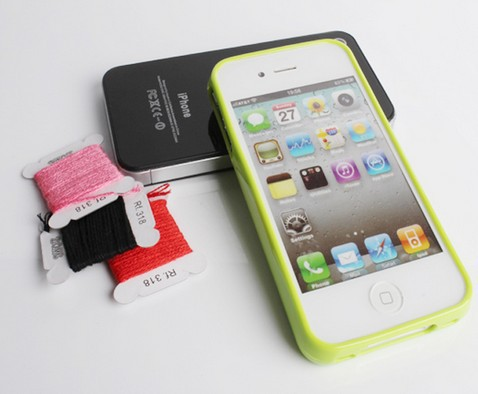10Pcs/lot,New Fashion DIY Cross Stitch Silicone TPU Case For iPhone 4 4S 5 5S supreme DIY case With Retail Box,Free Shipping(China (Mainland))